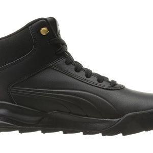 New PUMA Desierto Sneaker L Black size 8.5 & 9 NWT